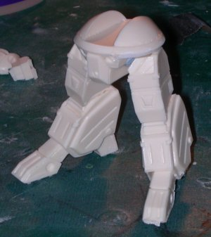 Initial legs pose