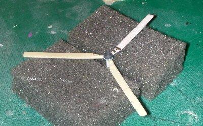 Needs more rotors - spinner done, though. Yay for Kotobukiya!